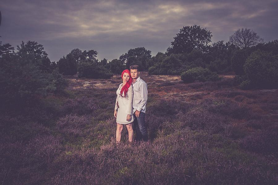 Fotograf in der Heide Lingen Emsland