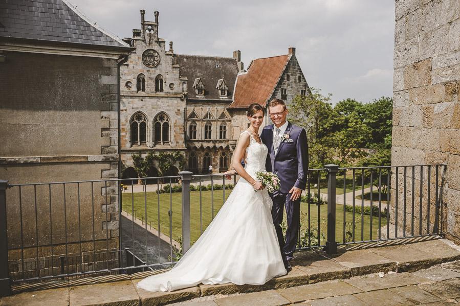 Hochzeit auf der Burg Bentheim